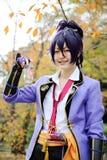 Giovane ragazza giapponese di cosplay Fotografie Stock
