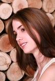 Giovane ragazza graziosa Immagine Stock