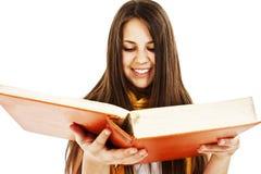 Giovane ragazza graziosa con i libri Fotografie Stock