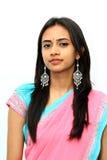 Giovane ragazza indiana. Immagini Stock Libere da Diritti