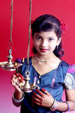 Giovane ragazza indiana Fotografia Stock Libera da Diritti