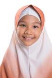 Giovane ragazza musulmana con Hijab II Immagini Stock