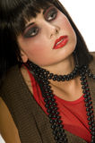 Giovane ragazza punk moderna Immagini Stock Libere da Diritti