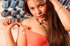 Giovane ragazza sexy Fotografia Stock Libera da Diritti