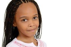 Giovane ragazza sudafricana immagine stock libera da diritti