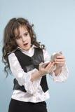 Giovane ragazza teenager Fotografie Stock Libere da Diritti