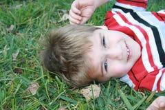 Giovane ragazzo Fotografia Stock
