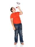 Giovane ragazzo caucasico Fotografie Stock Libere da Diritti