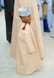 Giovane ragazzo dell'Oman immagine stock