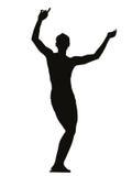 Giovane ragazzo di dancing Fotografia Stock Libera da Diritti