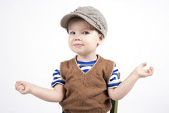 Giovane ragazzo sorridente Immagini Stock