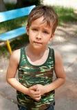 Giovane ragazzo sveglio Fotografie Stock Libere da Diritti