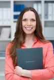 Giovane richiedente di lavoro sorridente Fotografie Stock