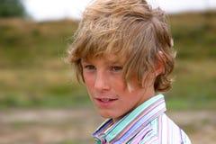 Giovane ritratto del ragazzo Fotografia Stock Libera da Diritti