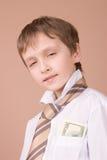 Giovane ritratto dell'uomo d'affari Fotografia Stock Libera da Diritti
