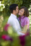 Giovane Romance Fotografia Stock