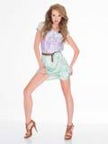 Giovane Sexy Pose di modello grazioso splendido Fotografia Stock Libera da Diritti