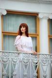 Giovane signora del victorian Fotografie Stock