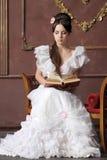 Giovane signora del victorian Fotografia Stock
