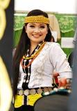 Giovane signora di Lundayeh fotografie stock libere da diritti