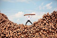 Visione di affari - successo Fotografie Stock Libere da Diritti