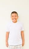 Giovane sorridere asiatico del ragazzo Fotografia Stock