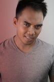 Giovane sorridere del filippino immagini stock libere da diritti