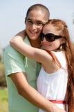 Giovane sorriso delle coppie Fotografia Stock