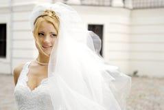 Giovane sposa Fotografia Stock Libera da Diritti