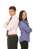 Giovane squadra di affari Immagine Stock
