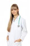 Giovane studente di medicina femminile Immagini Stock