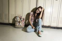 Giovane studentessa bella all'istituto universitario Fotografie Stock