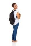 Giovane studentessa di college africana Fotografia Stock