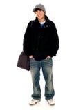 Giovane tirante freddo casuale Fotografie Stock Libere da Diritti