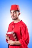 Giovane turco con il libro Immagini Stock