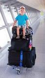 Giovane turista Fotografia Stock Libera da Diritti