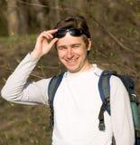 Giovane turista Fotografie Stock Libere da Diritti