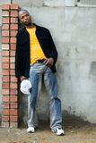 Giovane uomo africano Fotografia Stock Libera da Diritti