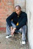 Giovane uomo africano Immagini Stock