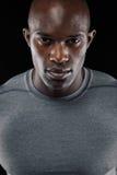Giovane uomo africano sicuro Fotografia Stock