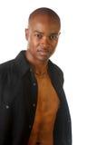 Giovane uomo Afro-American. immagine stock