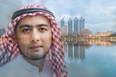 Giovane uomo arabo fotografia stock libera da diritti