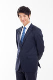 Giovane uomo asiatico di affari Immagini Stock