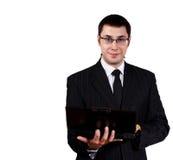 Giovane uomo d'affari immagini stock libere da diritti
