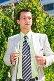 Giovane uomo d'affari Fotografia Stock Libera da Diritti