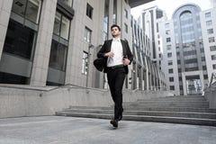 Giovane uomo d'affari Fotografia Stock