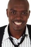 Giovane uomo d'affari africano immagine stock libera da diritti