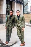 Giovane uomo d'affari americano Fashion a New York Fotografie Stock Libere da Diritti