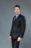 Giovane uomo d'affari Astonishing Fotografia Stock Libera da Diritti