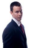 Giovane uomo d'affari bello fotografia stock